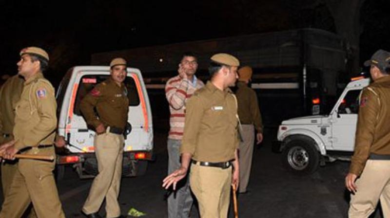 Delhi: Two cops injured in shootout with wanted Criminal in Nehru place