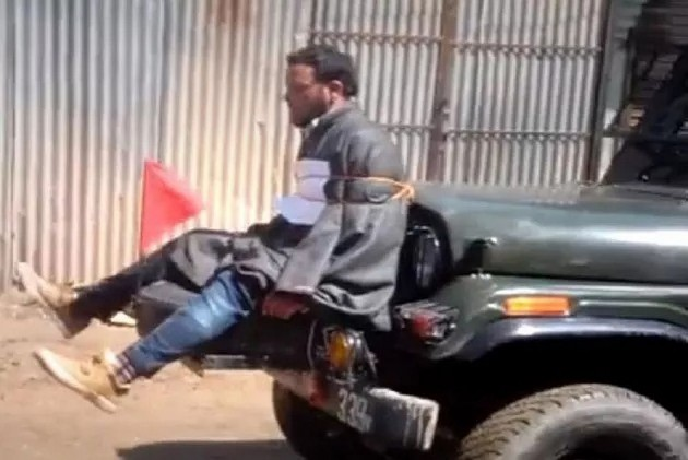 Civilian Tied To Army Jeep In Video Identified As Tailor Farooq Dar, Says He Was Paraded Across 10 Villages
