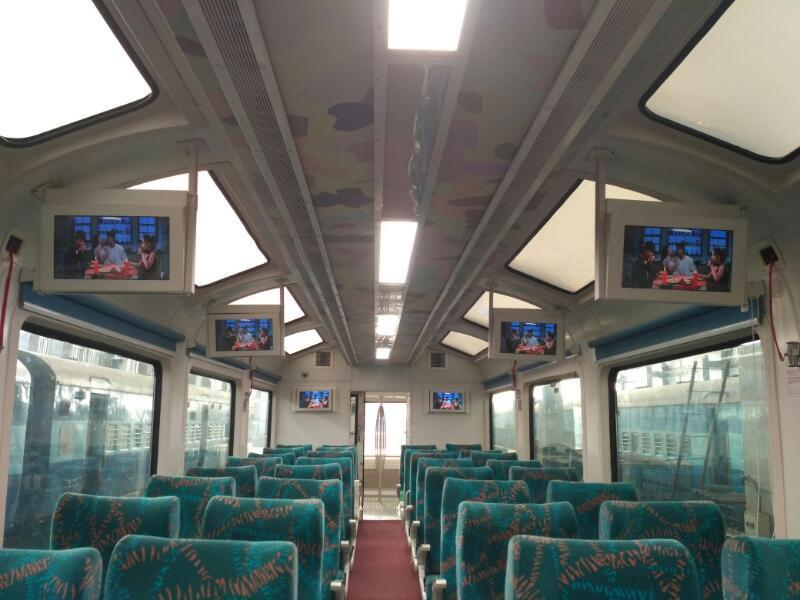 In Pics: Indian Railway's New Vistadome Coaches With Glass Roof, LED Lights And GPS