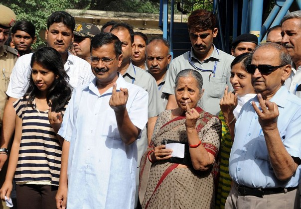 Delhi MCD Elections: Arvind Kejriwal Among Firsts To Vote