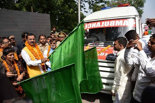 Now an exclusive ambulance service for cows in Uttar Pradesh