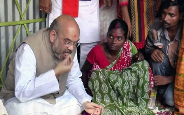 After Amit Shah's host family 'deserts' BJP, party organises protest rallies
