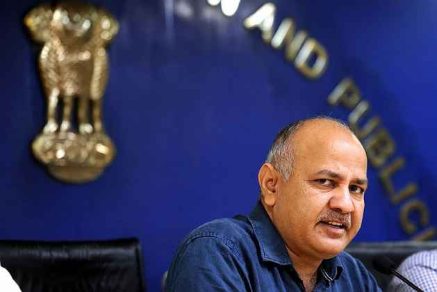 CBI At Manish Sisodia's House, Records Statement In Case Relating To AAP's 'Talk to AK' Campaign