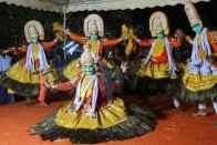 Book On A Kerala Folk Art Beams Light On Retrieved Heritage