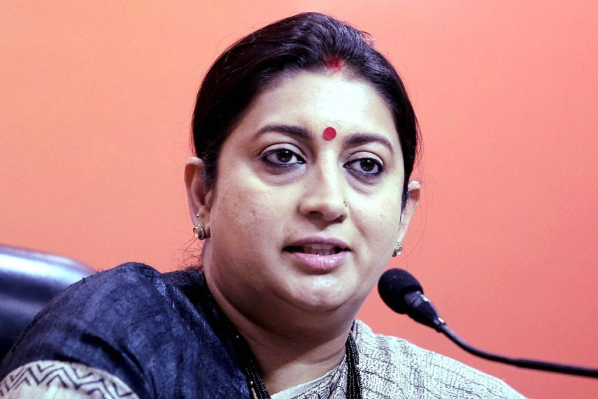 Irani will hold additional charge of I&B