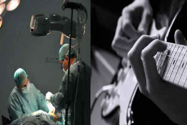 Incredible! Bengaluru man plays guitar during his brain surgery