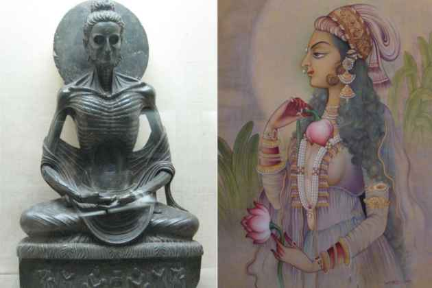When An Emaciated Buddha Got Juxtaposed With Many-Hued Mughals
