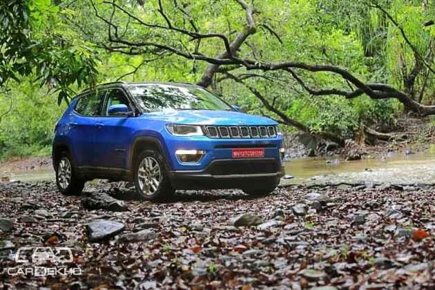 Jeep Compass vs Hyundai Tucson: Variant Wise Feature Comparison