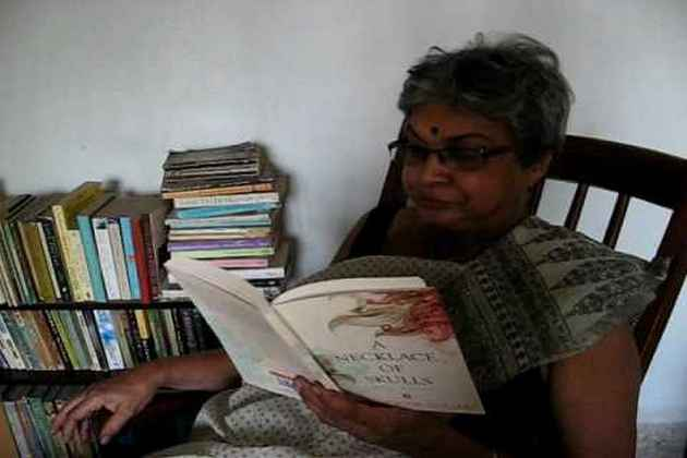 Her Poems, Her Jibes, Her Sarees, Her Cigarette Smoke Rings: My Teacher Eunice Ma'am