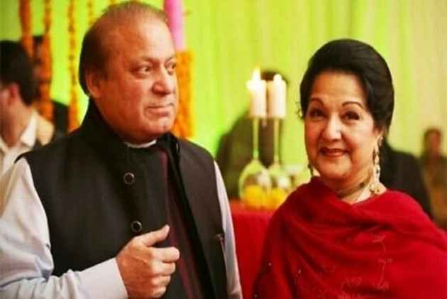 Nawaz Sharif's Wife Signs Nomination Papers For NA-120 By-Polls