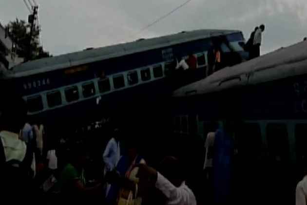 Passenger train derails in India, killing at least 23