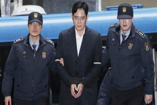 Samsung Chairman Son Jailed