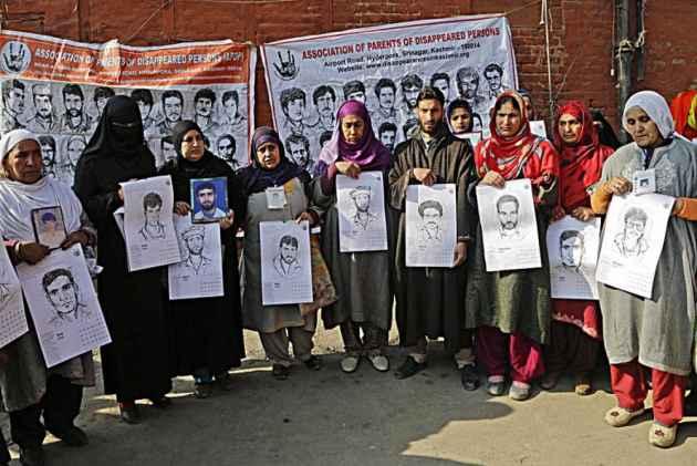 Image result for enforced disappearances Kashmir