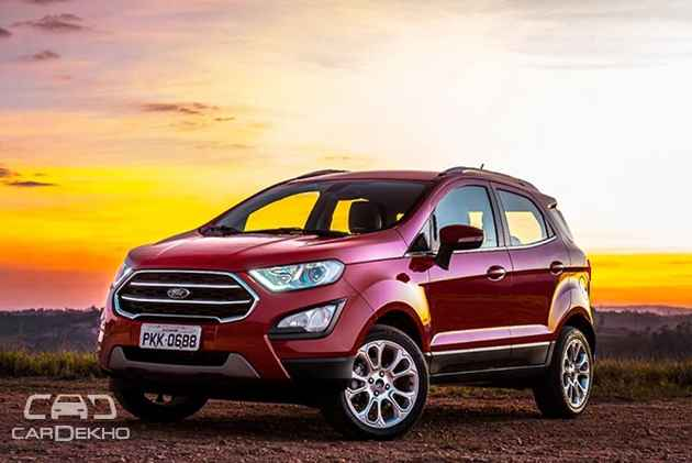 ford ecosport facelift what to expect. Black Bedroom Furniture Sets. Home Design Ideas