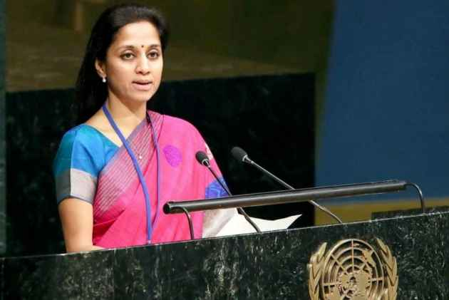 Supriya Sule refutes Raut's claim on Cabinet berth offer