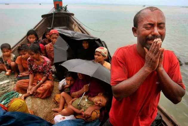 Over 310000 Rohingya have fled to Bangladesh