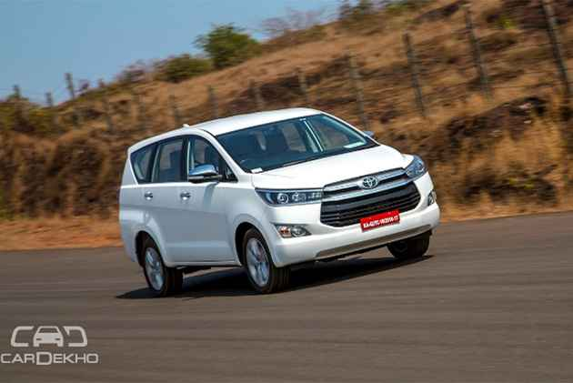 Toyota Innova Crysta, Fortuner Prices Hiked Post Cess Increase