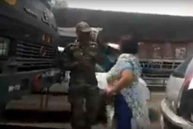 WATCH: South Delhi Woman Slaps Army Personnel, Arrested After Video Goes Viral