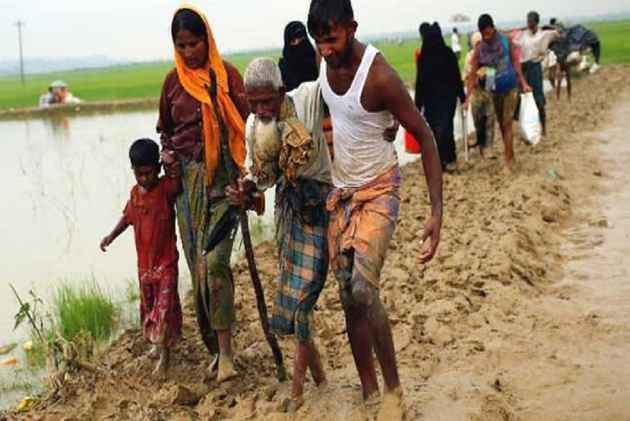 India says Rohingyas a threat as Myanmar seeks global help