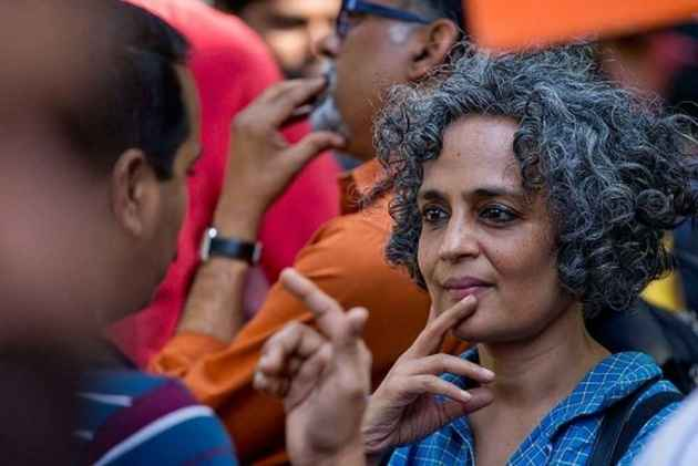Watch: Pakistan Quotes Arundhati Roy To Lash Out At India, Invokes Writer To Speak Against Sushma Swaraj's UN Speech