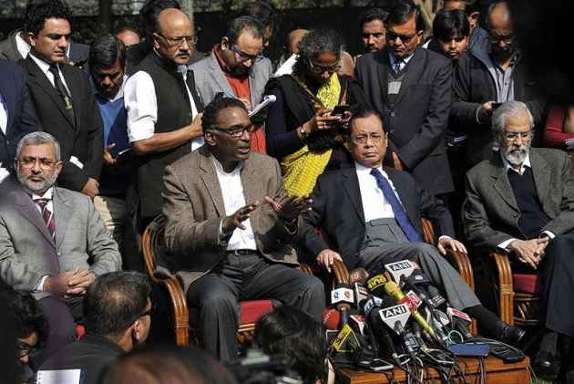 Won't Intervene, Judiciary Will Sort Out Matter Itself: Govt On SC Judges' Press Conference