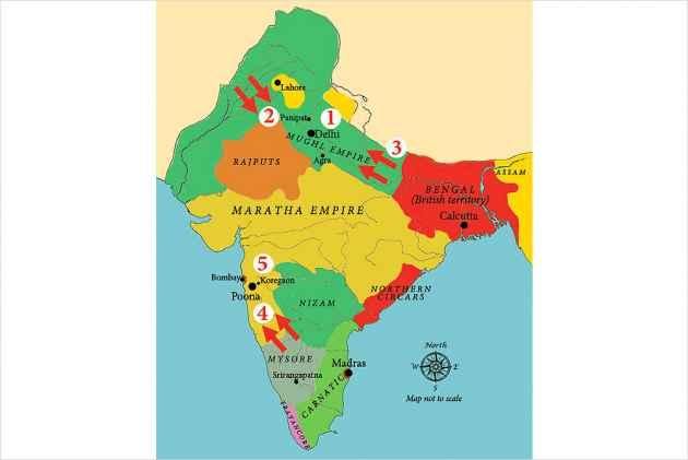 maratha empire pdf in hindi