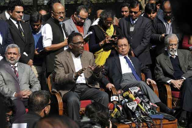 BJP says Congress trying to politicise internal issues of the judiciary