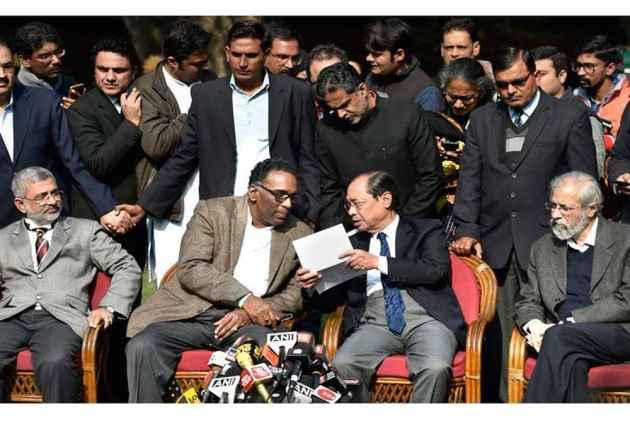 Bar Council Delegation Meets Justice Chelameswar, To Meet CJI Dipak Misra, Other Judges Next