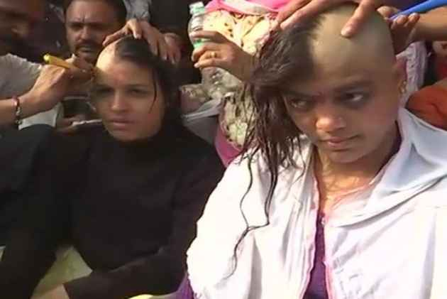 Demanding Equal Pay For Equal Work, Teachers In Bhopal Go 'Bald' In Protest