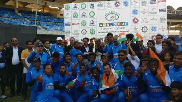 India Beats Pakistan To Win 2018 Blind Cricket World Cup Title