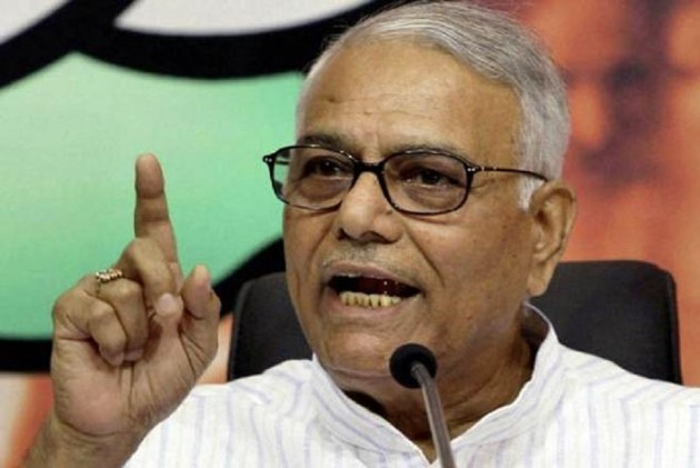 India Under Undeclared Emergency, Tax Terrorism Order Of The Day: Yashwant Sinha