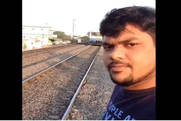 Hyderabad youth critical after selfie in front of train goes horribly wrong