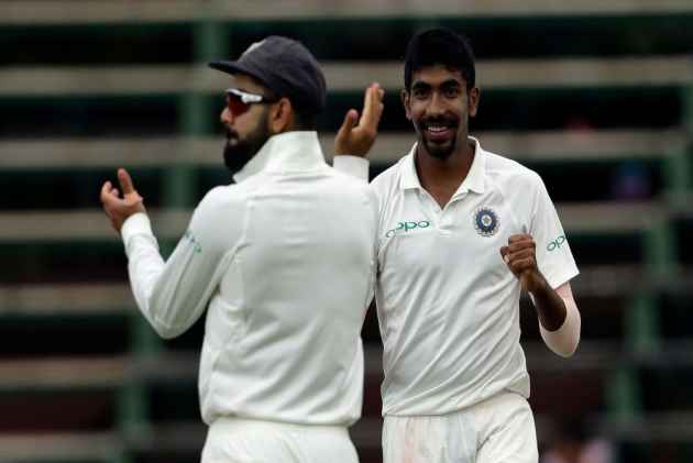 Kumar rattles South Africa, 143-6 in 3rd test