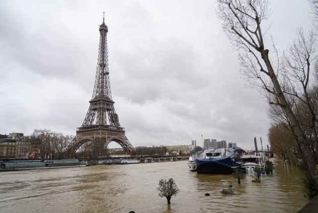 Heavy Flooding Hits Paris, France as River Seine Rises to 19 Feet
