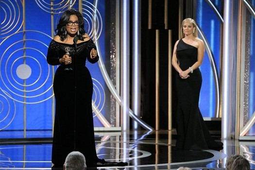 In A Powerful Speech At Golden Globes 2018, Oprah Winfrey Speaks Out Against Sexual Abuse, Says 'Time's Up'
