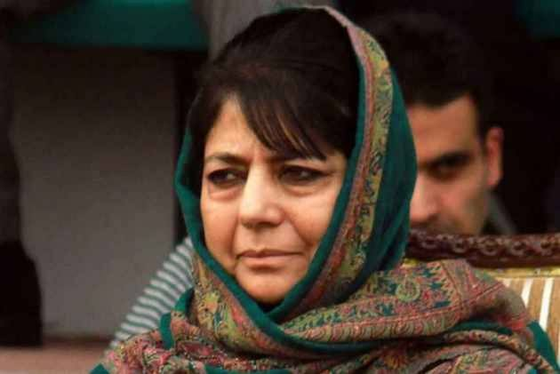 Unless Talks Are Held, Bloodshed Will Continue: Mehbooba Mufti