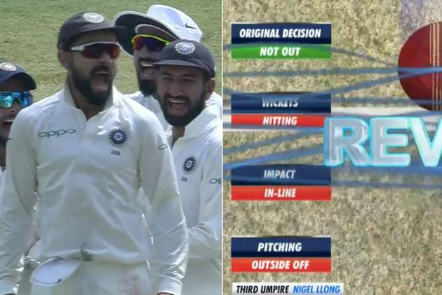 IND Vs WI, 2nd Test: Jubilant Kohli Celebrates Successful Review In Epic Style – Watch