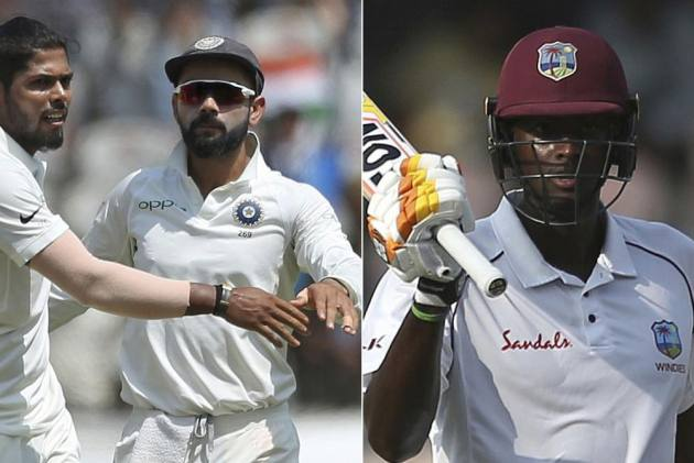 India Vs West Indies, 2nd Test, Day 1 Report: Defiant Roston Chase Exposes Indian Bowling Attack
