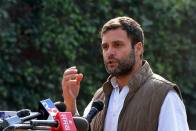 As India Ranks 103rd On Global Hunger, Rahul Says PM Modi Forgot To Give Food To People