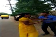 Karnataka Woman Beats Bank Officer For Allegedly Demanding Sexual Favours For Loan