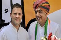 Jaswant Singh's Son And BJP MLA Manvendra Singh Joins Congress