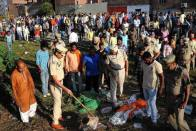 Amritsar Tragedy: Locals Continue To Protest At Train Accident Site