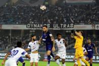 ISL 2018-19: Delhi Dynamos Goalkeeper Francisco Dorronsoro Thwarts Chennaiyin FC