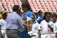 Watch: India Captain Harmanpreet Carries Unwell Girl Off The Field