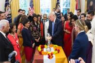 India 'Very Good' Trade Negotiators: Trump At White House Diwali Celebrations
