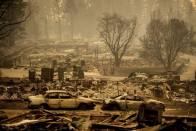 Death Toll From California Wildfires Rises To 59, 130 Still Missing
