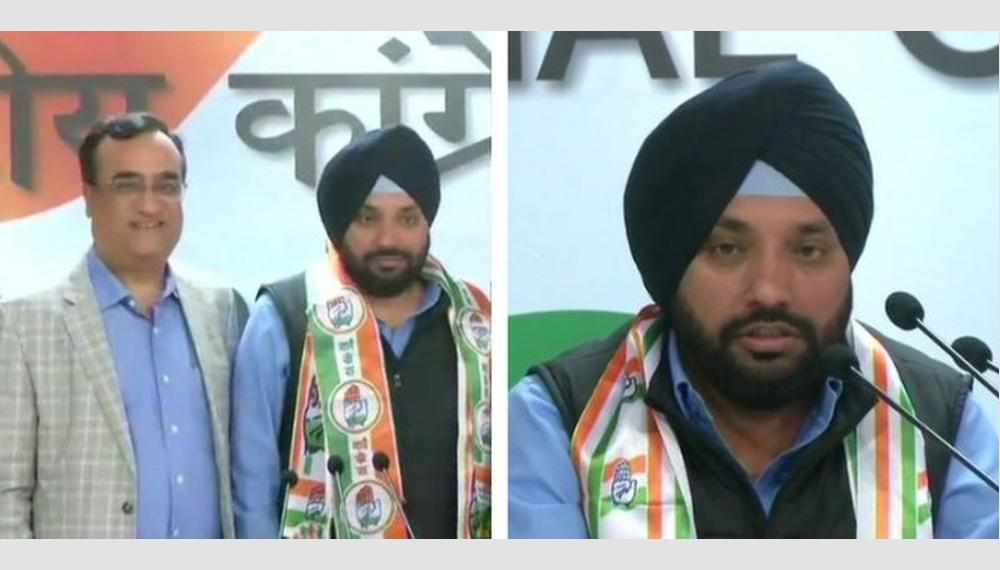 Arvinder Singh Lovely rejoins Congress, says he was 'misfit in BJP'