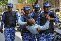 Maldives Police Break Up Countrywide Opposition Protests, Several Injured