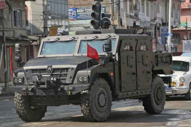 CRPF In Kashmir May Soon Drive Bulletproof Sherpa Which Can Resist Even An RDX Blast