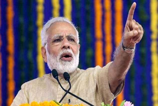 PM Modi inaugurates BJP's new headquarters in Delhi
